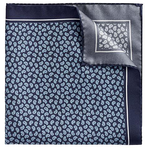 John Lewis Hugo Boss silk paisley pocket square, £35