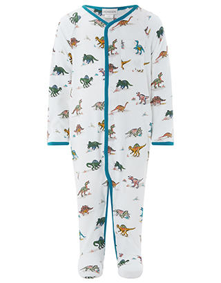 Monsoon Kids Denny Dino Sleepsuit,£20