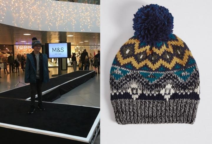 M&S Fairisle Hat, £8 (2)