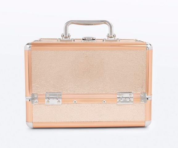 New Look rose gold vanity case. £19.99