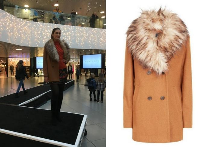 New Look tan faux fur collar coat, £54.99 (2).jpg