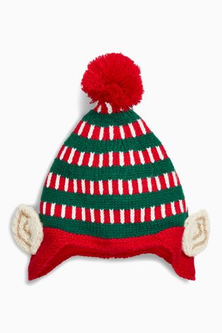 Next Red & Green Elf Hat, £6