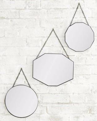 Next Set of 3 hanging mirrors. £50