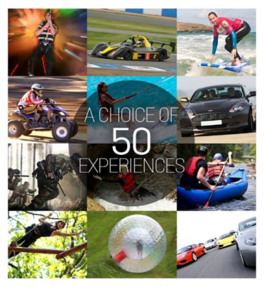 Boots ultimate choice for thrills gift experience voucher £45.png