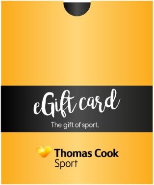 Thomas Cook Sport e-gift card