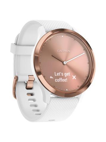 garmin vivomove hr sport smartwatch, rose gold £149